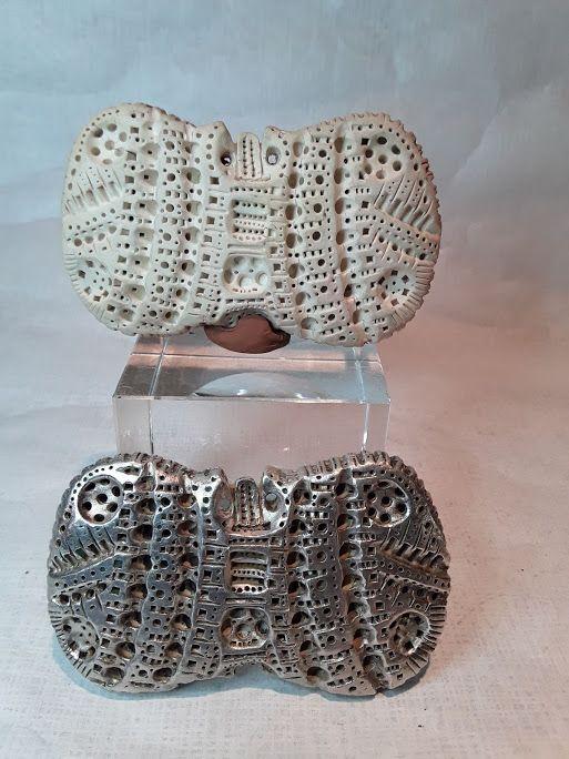 "Alexander Ney Russian American contemporary sculptor ""Object "" V6"