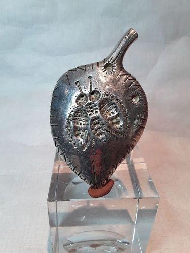 "Alexander Ney Russian American sculptor ""Sterling silver Bee Pendant"""