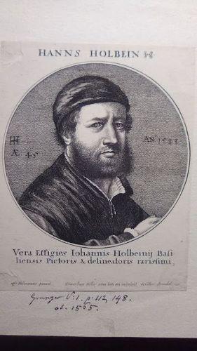 Wenceslaus Hollars Hanns Holbein Portrait c 1647