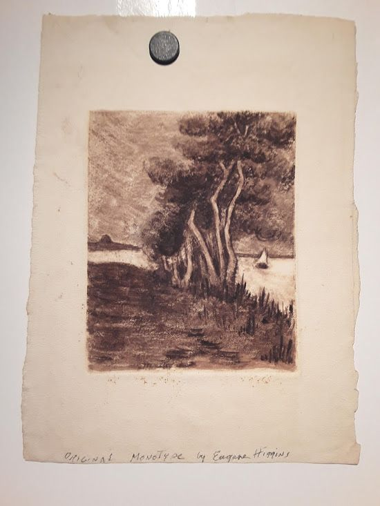 Eugene Higgins 1 8 7 4 - 1 9 5 8 Monotype print