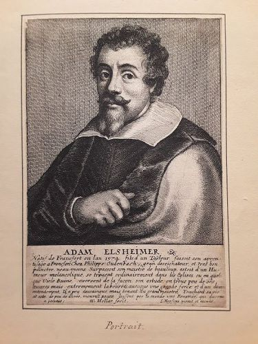 Wenceslaus Hollar Adam Elsheimer, etching 1649