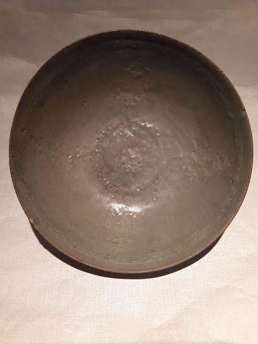 Korean Koryo Dynasty inlaid celadon Bowl