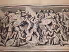 18thc Neoclassical engraved Roman soldier Prints designer lot #201