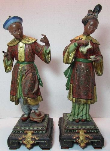Austrian cold painted bronze figures, attributed to Franz Bergman