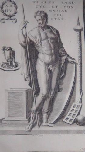 18thc Neoclassical engraved Roman soldier Prints designer lot #211