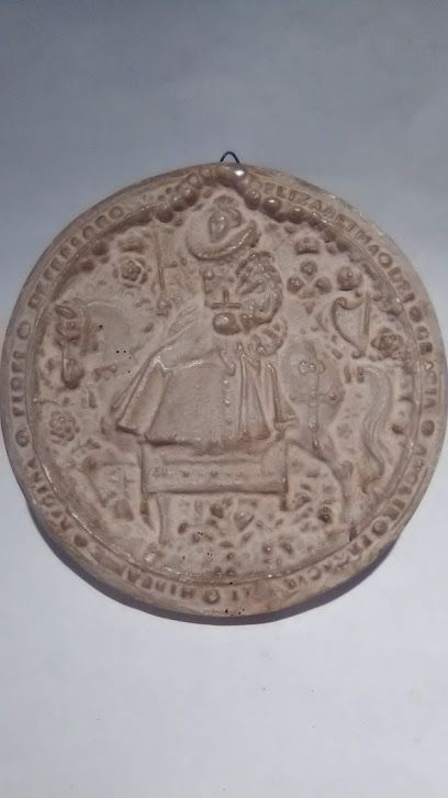 Plaster Grand Tour Great Seal of Queen Elizabeth 1