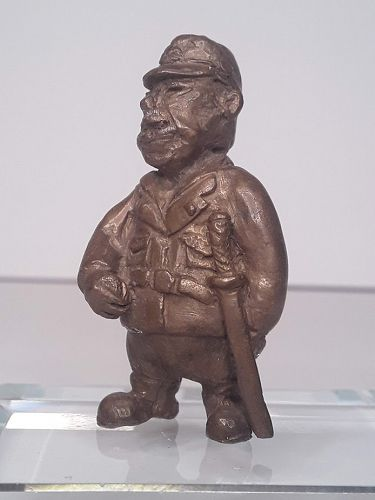 Sterling Edmund Lanier sculptor Bronze Japanese  General