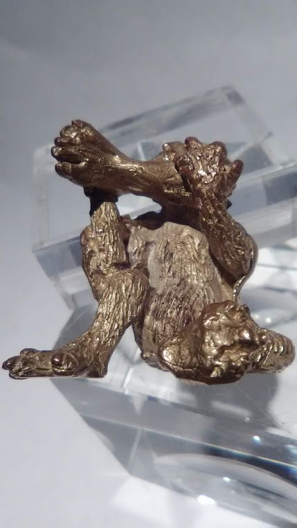 Sterling Edmund Lanier Cryptozoology figure Ape eating Human foot