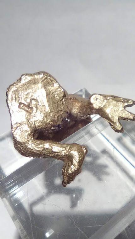 Sterling Edmund Lanier Cryptozoology figure Ape eating Human foot