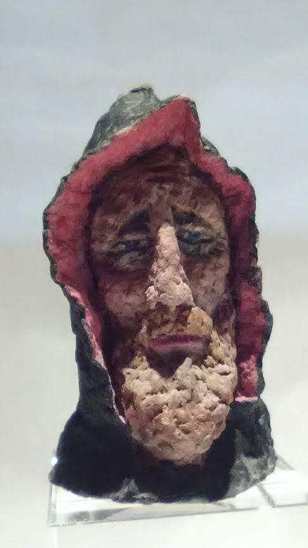 "Michael Lee Ford Outsider folk Prison art ""Sorcerer"""
