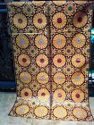 Vintage Japanese gold threaded purple silk brocade altar cloth