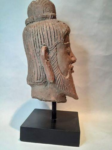 Gandharan Indo Persian Terracotta head