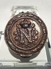 Rare Period Napoleonic snuff or patch box St Helena