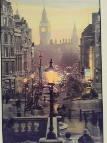 "Vintage Garry Seidel Fine Art Photography ""London Spires"""