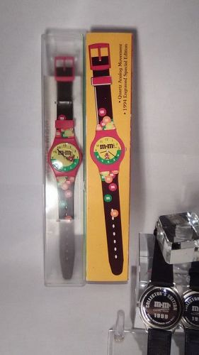3 M&M limited Edition watches