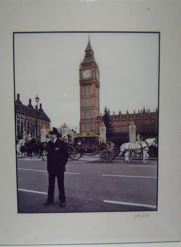 "Garry Seidel "" Guarding The Queen "" limited edition Photograph"