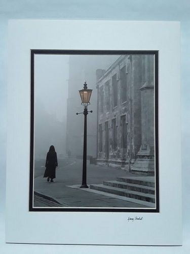 "Garry Seidel ""Woman in Fog"" York England"