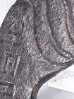 Rare Hongshan Flat Nephrite Pendant with Writing