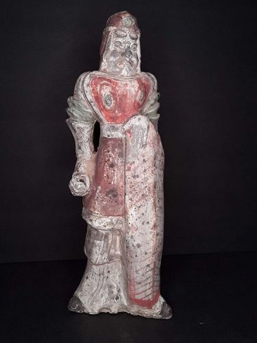 Rare Chinese Tang - Sui Dynasty 7th c Terracotta Soldier