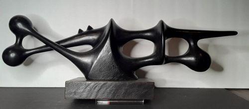 Augustin Cardenas Ebony Biomorphic Sculpture