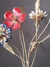Vintage Jane Hutcheson Gorham Fleurs Des Siecles Flowers Lucite Base