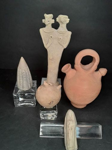 Middle Eastern Antiquities and Grand tour Tel halaf terracotta pottery