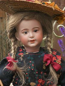 Rare French Lady Character Doll by SFBJ