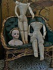 Attic Found French Poupee Body-Lot