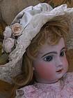 ~~~ Wonderful 19th.Century French Doll Bonnet ~~~