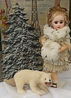 Rare Doll Display Polar Bear