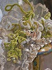 Beautiful French 19th. century Lace Bebe Bonnet
