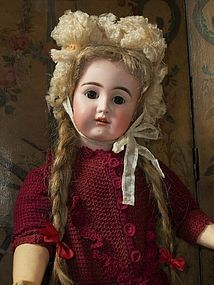 "Rare German Bisque Toddler Doll "" Olga "" by Kammer & Reinhardt"