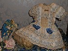 Most Beautiful French Bebe Costume with Silk Bonnet