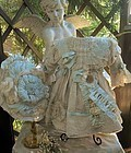 Superb French Bebe Silk Costume with Couture Bonnet
