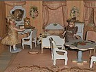 Miniature Doll House Chambre in Original Presentation Room-Box