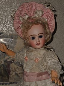 Rare Small French Bisque Bebe by Thuillier