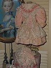 Pretty Vintage Doll Costume with Bonnet