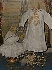 Pretty Antique 19th. Bebe Pique Costume / Two Piece Outfit ..
