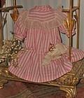 Pretty Original 19th. Century Doll Dress