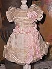 Pretty French original 19th. Century Silk Dress