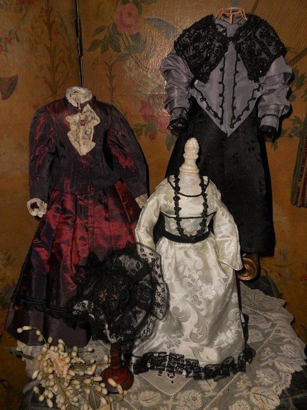 Pretty Ensemble of Vintage Poupee Clothing
