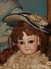Pretty Small Antique French Poupee Bonnet