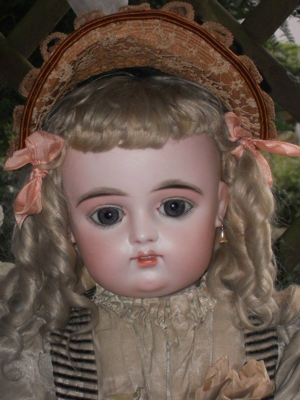 Splendid Eyes French Bisque Bebe by Gaultier with Doll-Shop Label