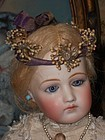 Antique Orange Blossom Poupee Coronet in Box