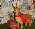 Pretty German Papier Mache Candy Box Bunny