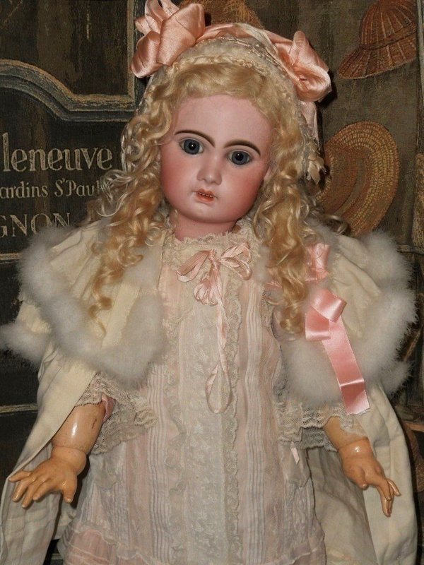 Beautiful Large French Bisque Bebe by Jumeau