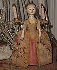 "Lovely "" The Old Pretenders "" Artist Wooden Doll"