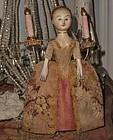 """Lovely """" The Old Pretenders """" Artist Wooden Doll"""