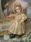 Stunning Factory Original small Bisque Bebe in Shoe Box