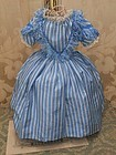 Rare Antique Enfantine Poupee Gown for Huret , Rohmer or other .....